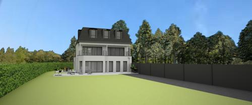 Suivre la construction d''une maison contemporaine face mer - St-Quay Portrieux